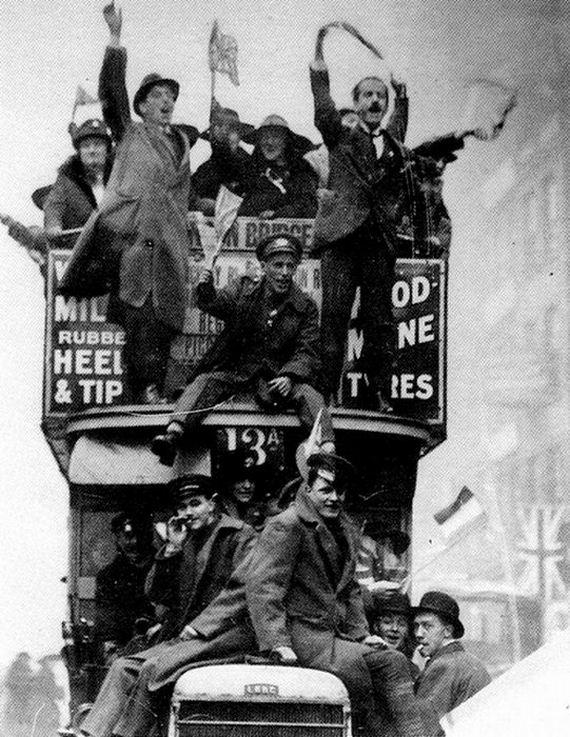 Az I.világháború vége