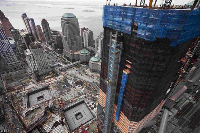 One World Trade Center lesz New York legmagasabb felhőkarcolója