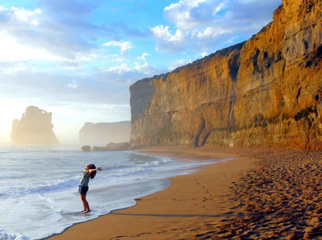 Tizenkét Apostol, mészkőoszlopok Ausztráliában