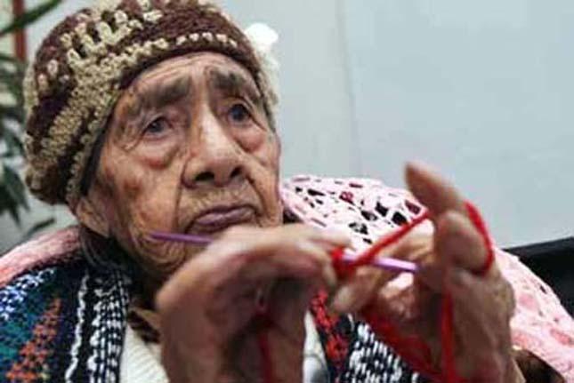 127 éves nő