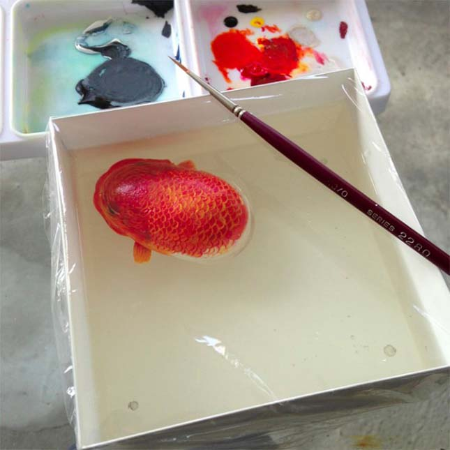 Keng Lye 3D-s festményei
