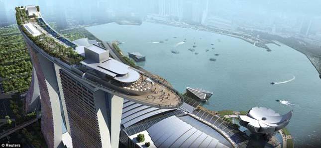 Mariana Bay Sands Hotel, Szingapúr