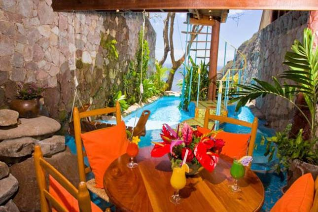 Ladera Hotel, St. Lucia
