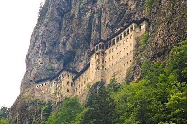 Sümela kolostor, Törökország