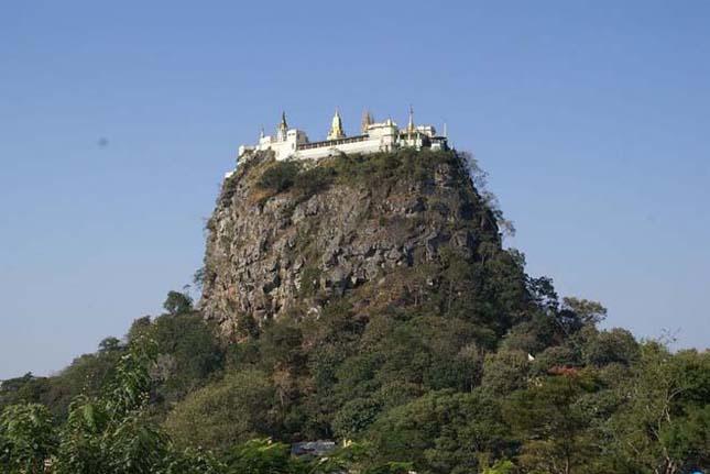Taung Kalat Monastery, Burma