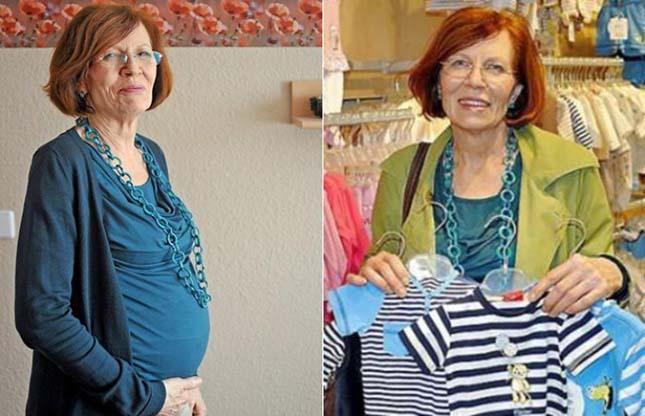 65 évesen négyes ikrei születtek