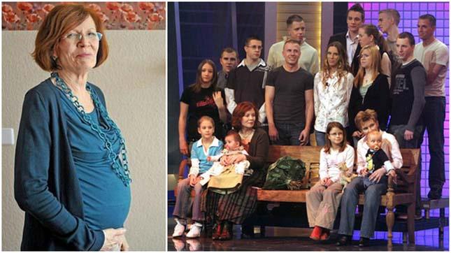 65 évesen szült négyes ikreket egy német nagymama