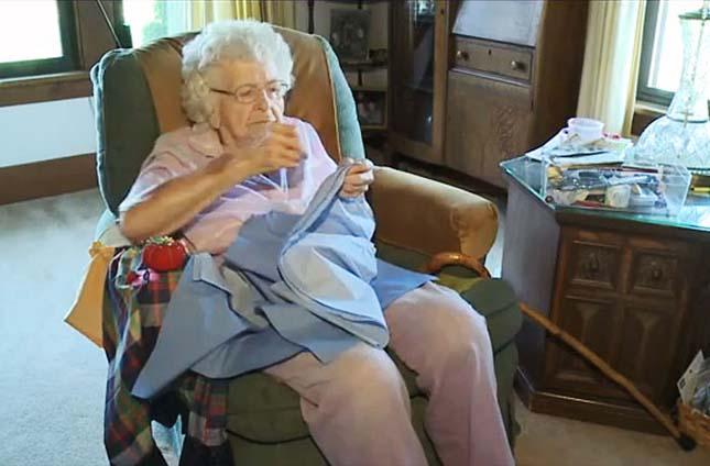 99 éves jótevő