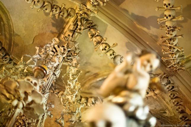 A sedleci osszárium Kutná Hora külvárosában