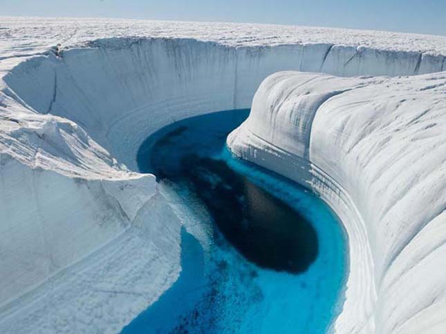 Ice Canyon, Grönland