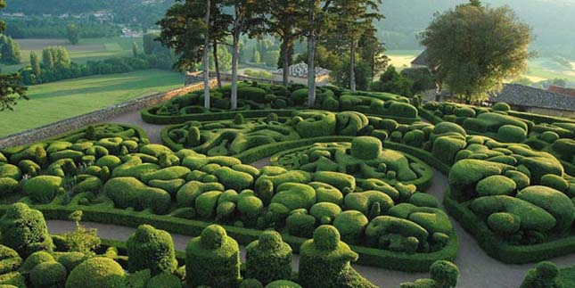Marqueyssac-park, Franciaország