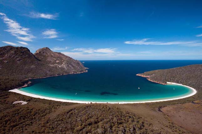 Wineglass Bay, Tasmánia