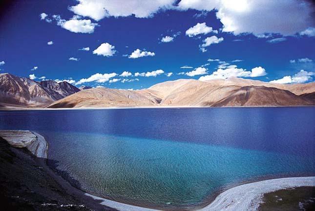 Pangong Tso,Himalája,India-Kína