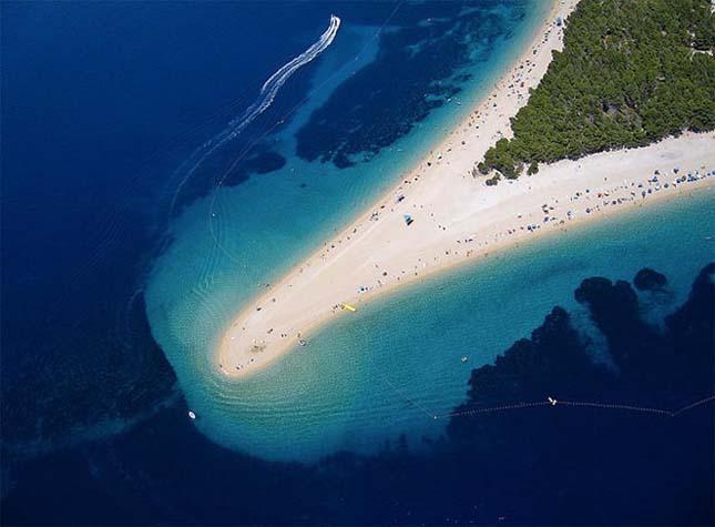 Zlatni Rat Bol, Brač-sziget, Horvátország