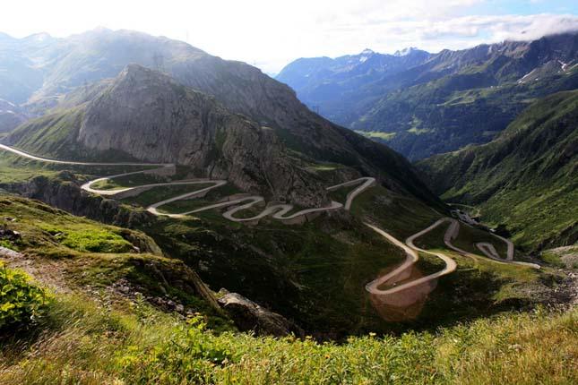 Gotthard hágó, Svájc