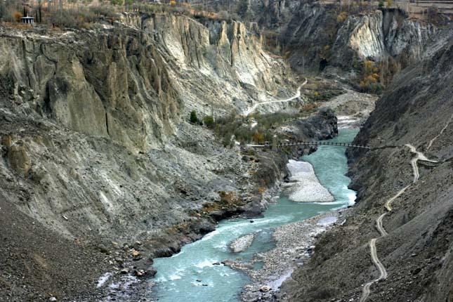 Karakoram Highway, Pakisztán-Kína