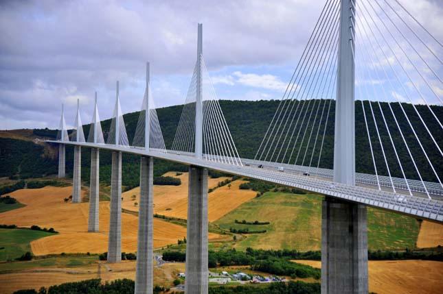 Millau Viadukt, Franciaország