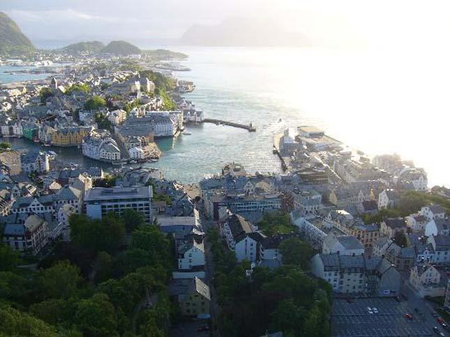 Alesund, Norvégia