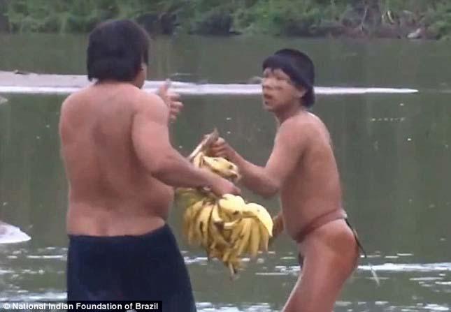 Elszigetelt törzs Amazóniában