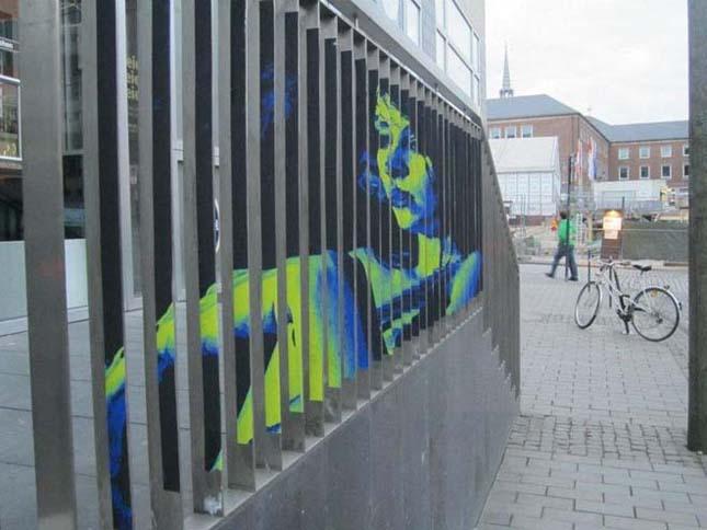 Az anamorfikus utcai művészet mesterei