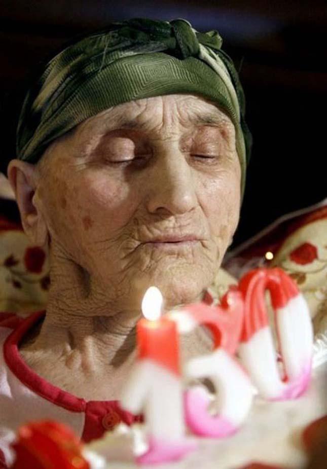 A legidősebb nő a világon