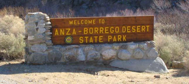Anza-Borrego Állami Park