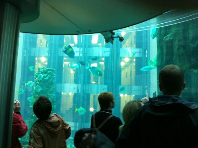 AquaDom, Sea Life Center, Berlin