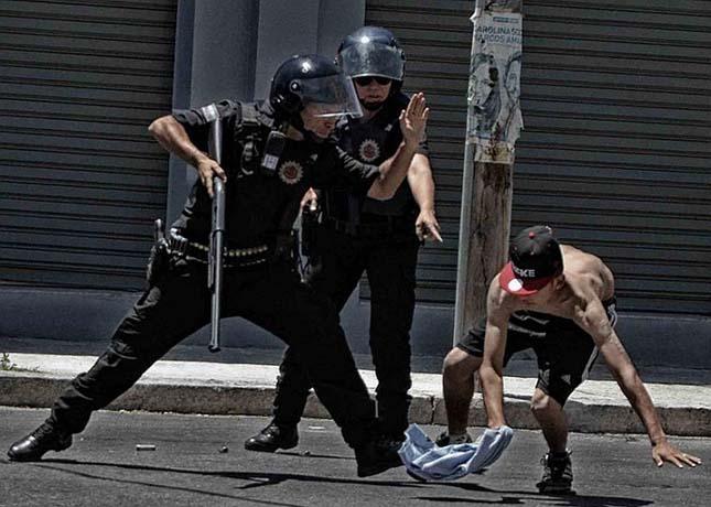 Argentin rendőrsztrájk