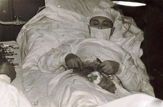 Leonyid Rogozov - Az ember, aki saját magát operálta meg