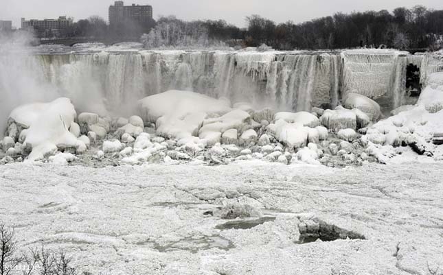 Befagyott Niagara