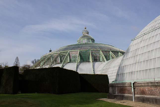 A belga kastély botanikus kertje