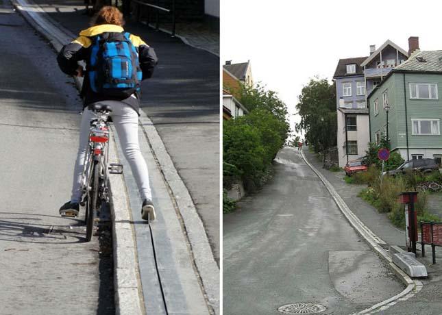 Biciklis felvonó