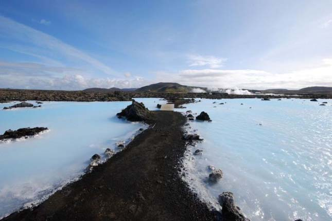 A Blue Lagoon strand Izlandon