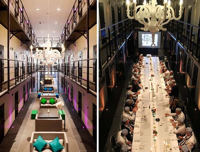 Börtönből szálloda, Hollandia