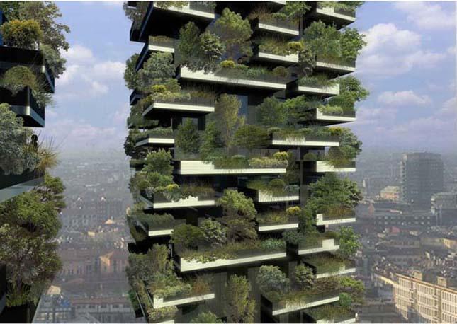 Bosco Verticale, épül a függőleges erdő Milánóban