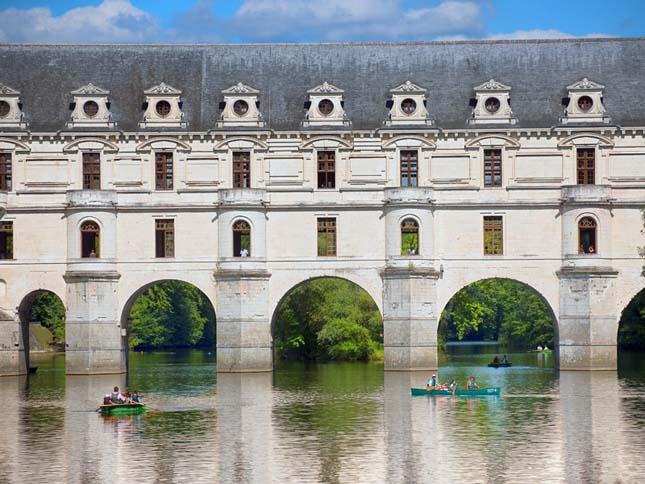 Chenonceau-i kastély, a Hat hölgy kastélya