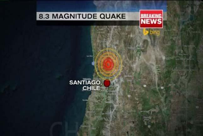 Chilei földrengés
