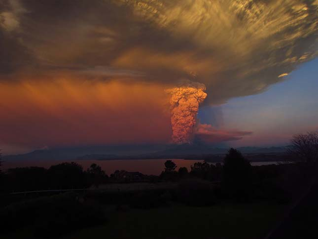 Kitört egy vulkán Chilében