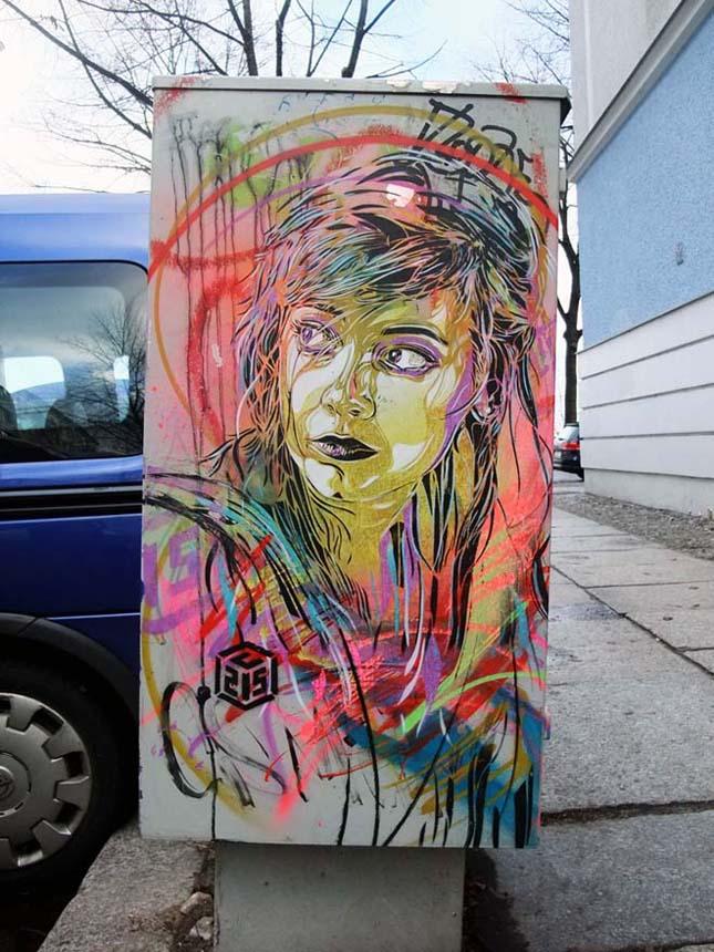 Christian Guémy utca művészete
