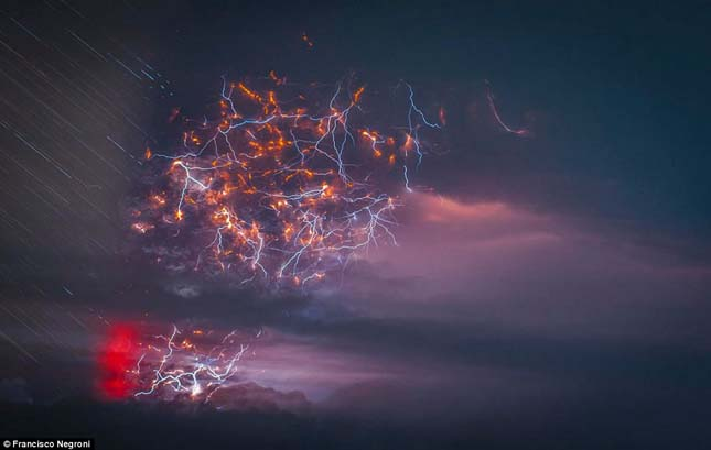 Cordón Caulle vulkán