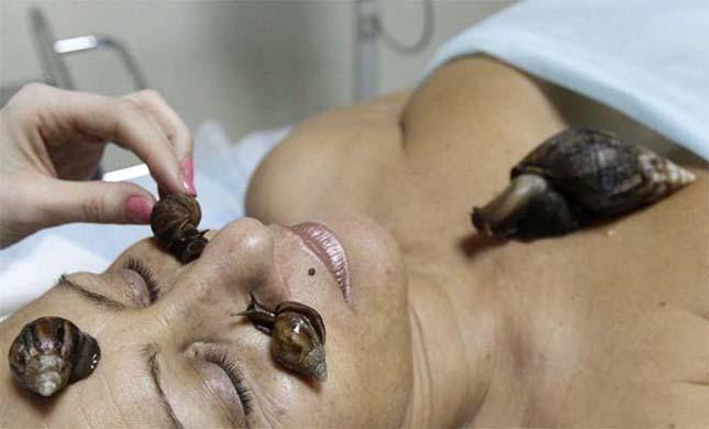 Sikamlós csiga masszázs