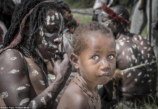 Dani törzs - Pápua Új-Guinea