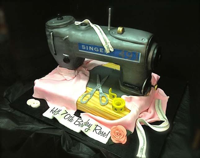 Debbie Goard élethű süteményei