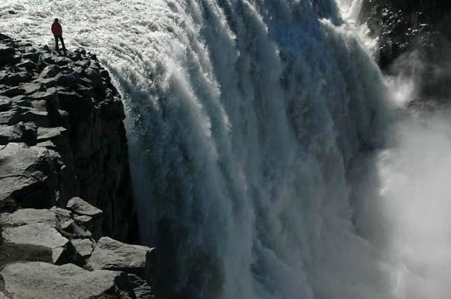 Dettifoss-vízesés