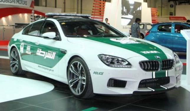 Dubai rendőrautói