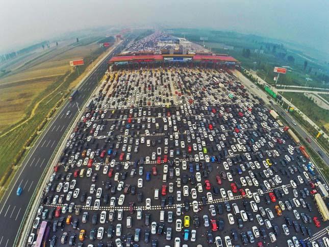 Hatalmas dugó Kínában