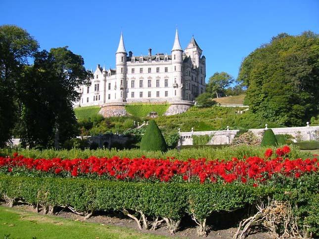 Dunrobin kastély, Skócia
