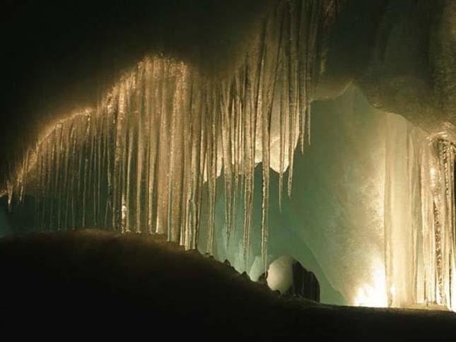 Eisriesenwelt, a világ legnagyobb jégbarlangja