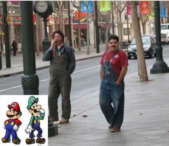 Élő rajzfilmfigurák