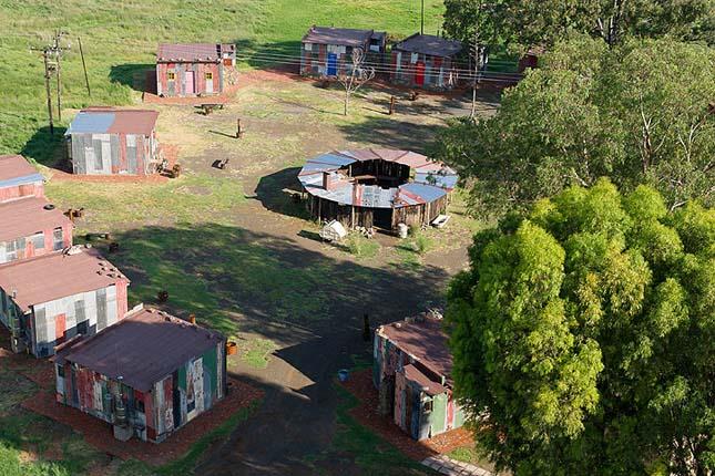 Shanty town, Dél-Afrika